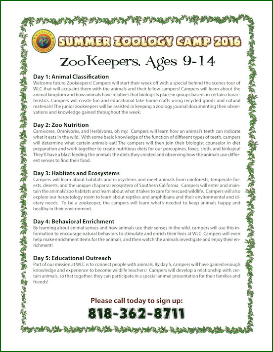 WLC - Zookeepers