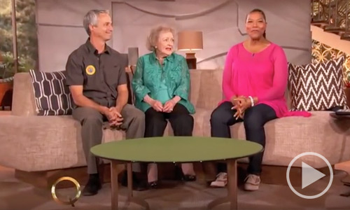 Queen Latifah and Betty White